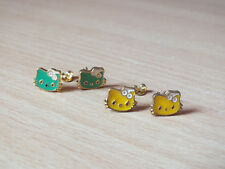 2 paires de boucles d'oreilles HELLO KITTY NEUVES