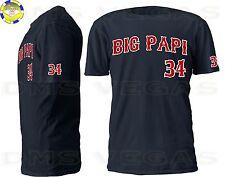 Boston Red Sox David Ortiz Big Papi Jersey T-Shirt Men Size S-XL