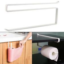 Kitchen Towel Roll Rack Holder Cabinet Metal 1pc Under Toilet Paper JJ