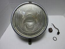 1929 CHRYSLER HEADLIGHT - COMPLETE - GOOD GLASS - NUT - LOCK WASHER