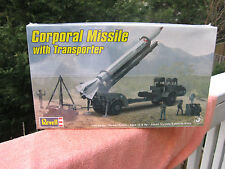 Revell Corporal Missile with Transporter Plastic Model Kit 1:40 Scale~2010 New