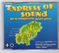 (GB268) Express Of Sound, Real Vibration (Want Love) - 1996 CD