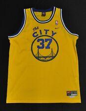 NICK VAN EXEL Golden State Warriors The City Jersey HWC Nike Swingman Yellow L
