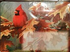 CARDINAL RED BIRD MAGNETIC ADDRESS MARKER GREAT FOR MAILBOX LAWN METAL BUILDING