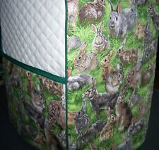 Rabbits Bunnies Quilted Cover for KitchenAid Mixer NEW