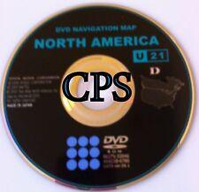 07 - 2007 Toyota Sequoia SR5 Limited Navigation DVD Map # U21