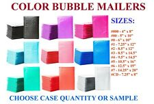 Color Padded Bubble Mailers Plastic Self Sealing Envelopes Protective Packaging