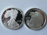 1 - 1 oz. 999 Fine Silver Round -- Walking Liberty Design - BU - New