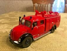 Magirus Auxiliary Fire Tender Truck # 4115 scale 1/50 Super Siku Series