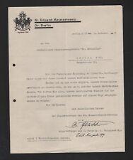 BERLIN, Brief 1929, St. Eduard-Meisterverein Gr.-Berlin