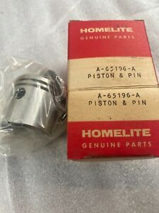 Nos Oem Homelite vintage chainsaw EZ,xl mini piston & ring kit 65196 $1 auctions