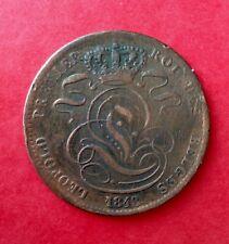 Belgique - Léopod Ier - Monnaie de 5 Centimes 1848