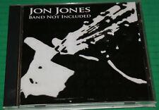 Jon Jones Band Not Included 2006 by Jones, Jon Rare Promo Cd Htf Oop Vg++