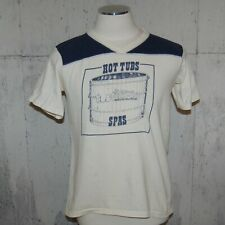 Vtg 70's/80's Tub Technics Hot Tubs & Spas T Shirt Xl runs smaller