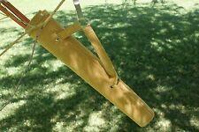 "Rebel Leather Side Quiver by Vista Archery 16 1/2"" heavy duty 6 arrows RH or LH"