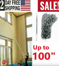 Duster Cleaning Extra Long Microfiber Extendable Ceiling Fan Cleaner Brush Pole