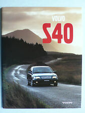 Prospekt Volvo S40, 1997, 44 Seiten