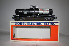 LIONEL #6-6323 1986 LCCA VIRGINIA CHEMICALS SINGLE DOME TANK CAR, BOXED