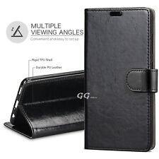 For Samsung Galaxy J5 Pro 2017 J530 pu Leather Black Wallet Magnetic Case Cover