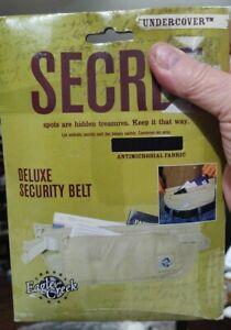 Security Belt Hidden Secret Travel Antimicrobial Soft On Skin Black Eagle Creek