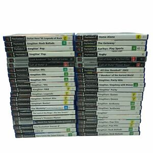 PS2 Playstation 2 Games - Large Selection of Titles - Posts Overseas