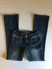 American Eagle Super Stretch Kick Boot Jeans Size 2 Long