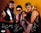 Dennis Condrey Bobby Eaton +1 Signed 8x10 Photo PSA/DNA NWA WWE Midnight Express