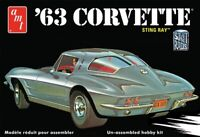AMT 1963 Chevy Corvette 1:25 scale model kit new 861