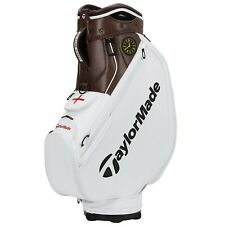 New listing TaylorMade St.Georges OPEN Tour Staff Golf Bag White/Brown - NEW! 2021 RARE