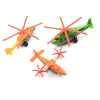 Plastic Air Bus Model Kids Children Pull Back Airliner Passenger Plane GiftToy F