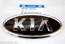 2pcs for front Grille & Tailgate KIA logo emblem for 2011 2012 KIA Sportage