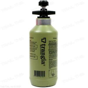 Trangia Fuel / Alcohol Camping Stove Bottle 300ml Green w/ Safety Valve 0.3L