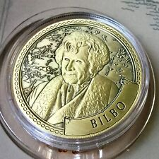 Bilbo Baggins Lord Of The Rings Limited Edition 38mm Collectors Coin In Capsule