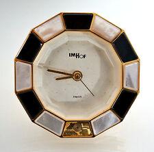 Réveil / Pendule À Poser - Chevalet - Verre Diamant - Fabrication Suisse - IMHOF