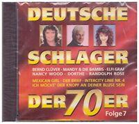 Deutsche Schlager der 70er 7-1976 Berns Clüver, Ulli Martin, Nina & Mike,.. [CD]