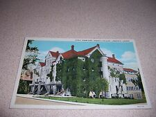 1920s GIRLS DORMITORY HASKELL COLLEGE LAWRENCE KANSAS ANTIQUE POSTCARD