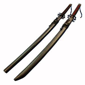 UK Seller Bleach Ichigo Kurosaki's Bankai Cosplay Wooden Sword Replica 2 Design
