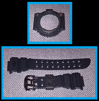GENUINE CASIO G-SHOCK FROGMAN GW200MS BLACK STRAP BAND & BEZEL SHELL CASE COVER
