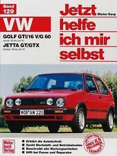 VW Golf 2 GTI 16V 1984-1990 Reparaturanleitung Reparatur-Handbuch Reparaturbuch