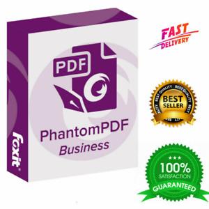 Foxit PhantomPDF Business 10 ✅ FULL VERSION ✅ Easy Setup ❗🔥