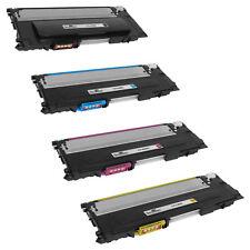 4 Pack Set of BLACK & COLOR CLT-K409S Toner Cartridge for Samsung CLP 315