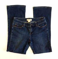 Esprit Womens Denim Jeans Dark Wash Smart Straight Bootleg