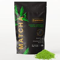 100% Pure USDA Organic Premium Latte-Grade Matcha Green Tea Powder, 100g