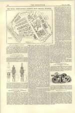 1892 Royal Agricultural Show WARWICK IDRAULICO PUNZONATURA Bear