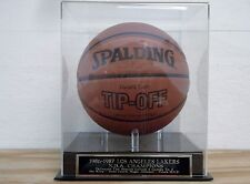 Display Case For Your 1986-87 Los Angeles Lakers Autographed Basketball