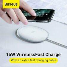 Baseus Qi Wireless Charger 15W Fast Charging Pad For Airpods iPhone 11 Pro Max