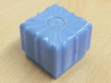 VINTAGE BLUE CELLULOID RING JEWELLERY JEWELRY BOX 1950