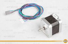 ACT Motor GmbH 1PC Nema17 17HS4417L20P1-X2 Schrittmotor 1.7A 40mm 4000g.cm