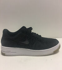Nike Air Force 1 Flyknit Womens Size 9 Black White