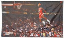 Michael Jordan Famous Foul Line Dunk Vintage Sports flag 3x5ft banner US Shipper